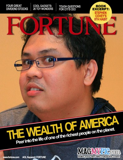 Marhgil On Fortune Magazine via MagMyPic