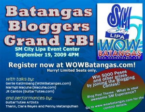 Batangas Bloggers Event