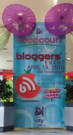 SM Lipa Foodcourt Bloggers' Event
