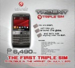 Cherry Mobile Trident Q300 Triple SIM Phone