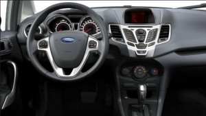 Ford Fiesta 2011 dashboard