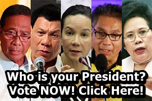 Philippine Election Online Poll