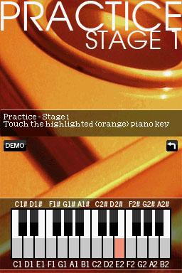 NDS Piano Screenshot