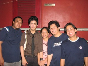 Ely Buendia With Marhgil And The Rest Of The Gang