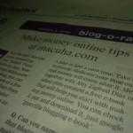 Featured On Manila Bulletin's Blog-O-Rama