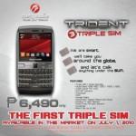 Cherry Mobile Trident Q300 Triple SIM Phone