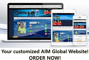 Visit aimglobalteam.com to Order