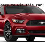 How To Win A 2017 Ford Mustang GT This May